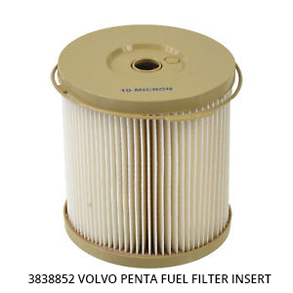 3838852 Volvo Penta Fuel Filter Insert